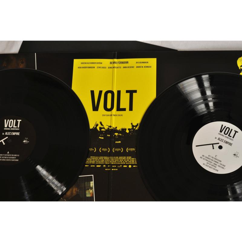 Alec Empire - Volt OST Vinyl 2-LP Gatefold  |  black