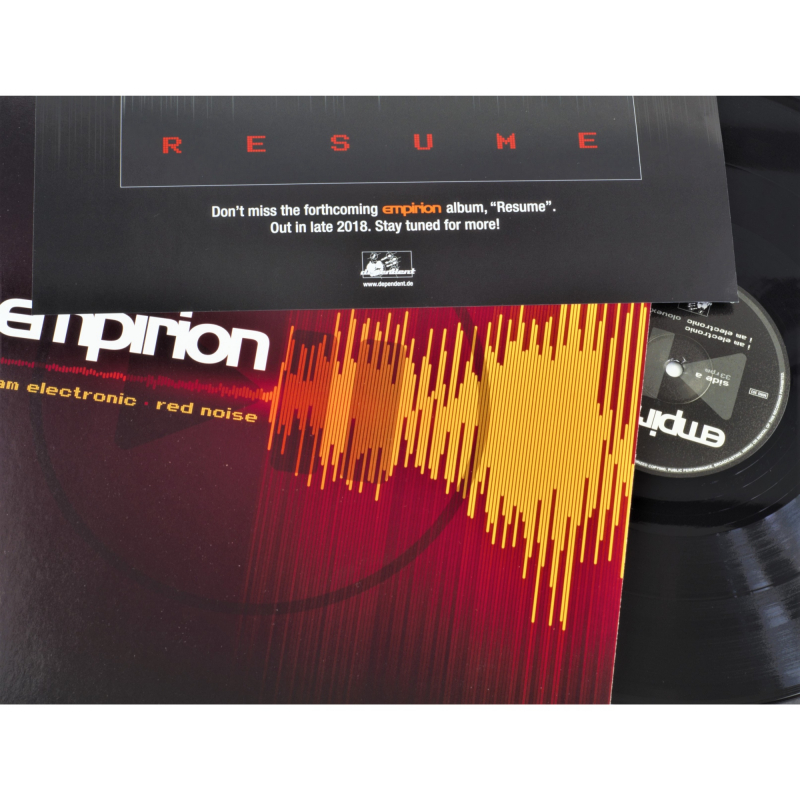 "Empirion - I Am Electronic/ Red Noise Vinyl 12"" EP     black"