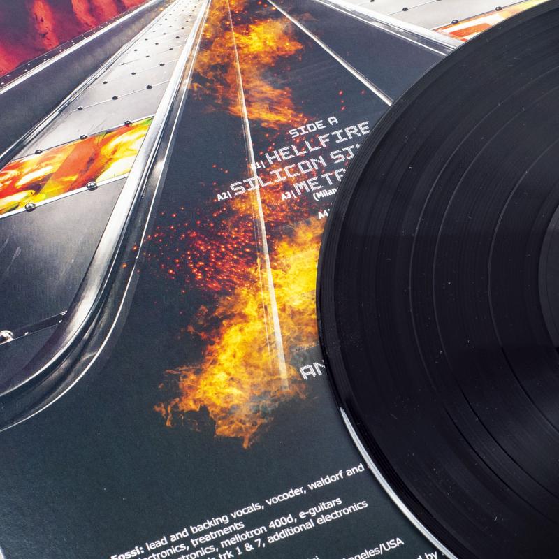 Kirlian Camera - Hellfire Vinyl LP     Black