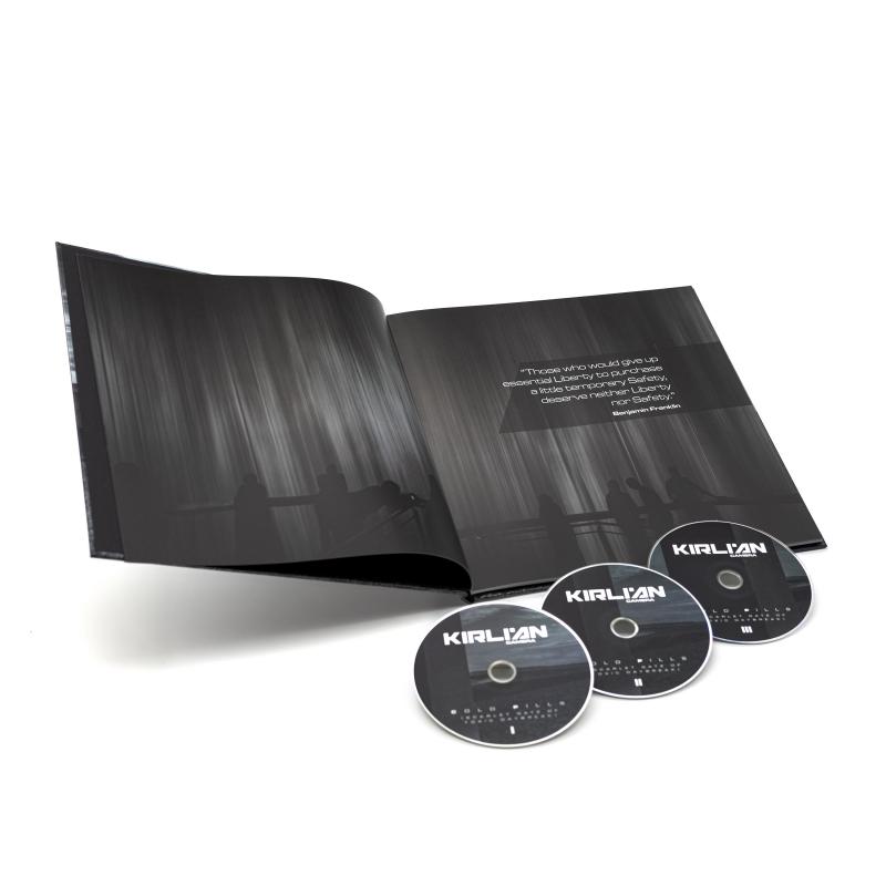 Kirlian Camera - Cold Pills (Scarlet Gate of Toxic Daybreak) Artbook 3-CD