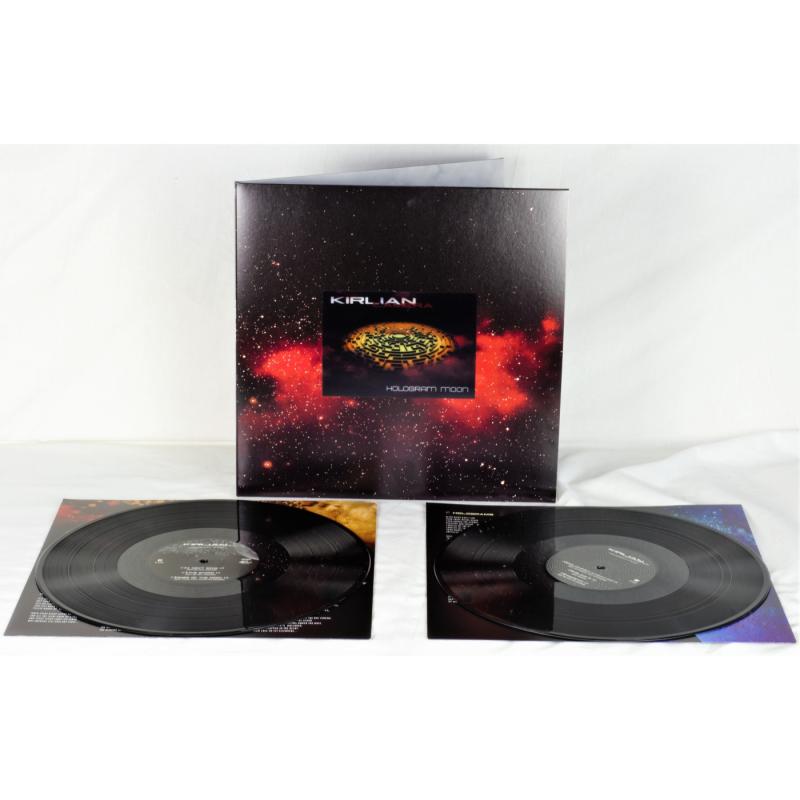 Kirlian Camera - Hologram Moon Vinyl 2-LP Gatefold  |  black