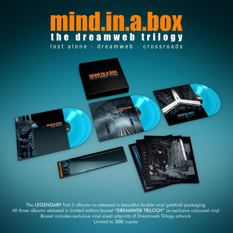 mind.in.a.box - Dreamweb Trilogy Vinyl Box  |  Sky blue