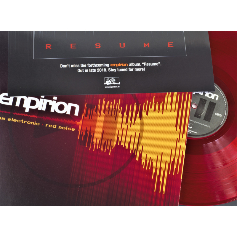 """Empirion - I Am Electronic/ Red Noise Vinyl 12"""" EP  