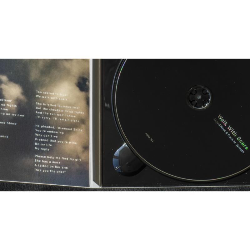 Liquid Newt & Frank M. Spinath - Walk With Scars CD Digipak