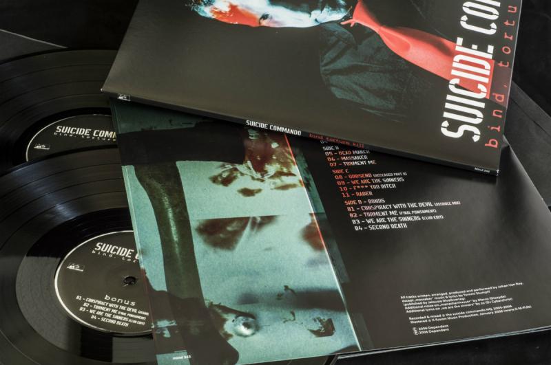 Suicide Commando - Bind, Torture, Kill (Re-Release) Vinyl Gatefold LP  |  black