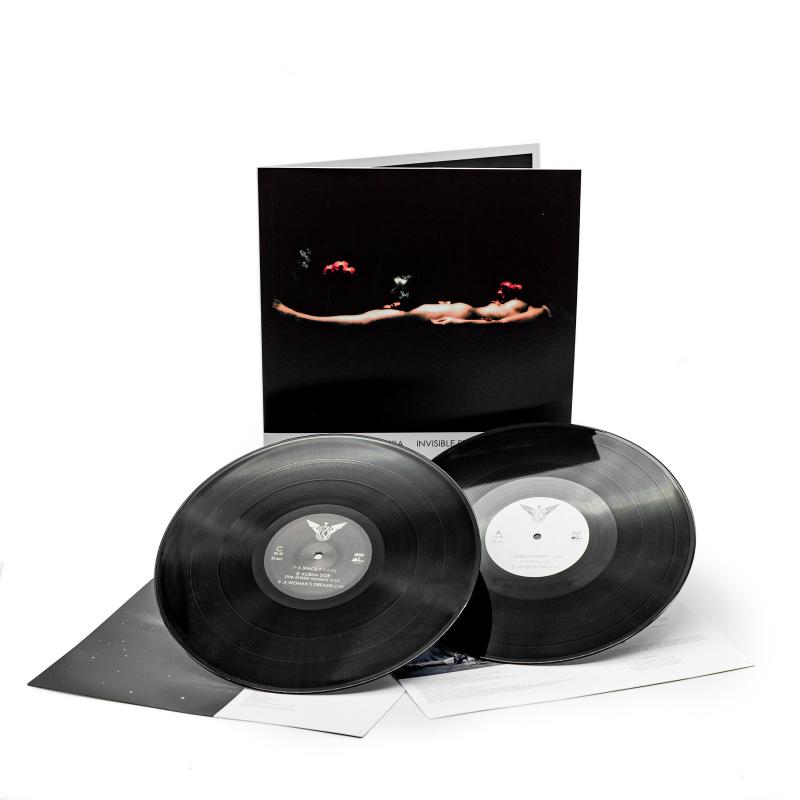 Kirlian Camera - Invisible Front. 2005 Vinyl 2-LP Gatefold  |  Black