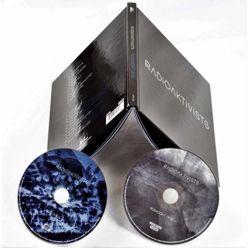 Radioaktivists - Radioakt One Book 2-CD
