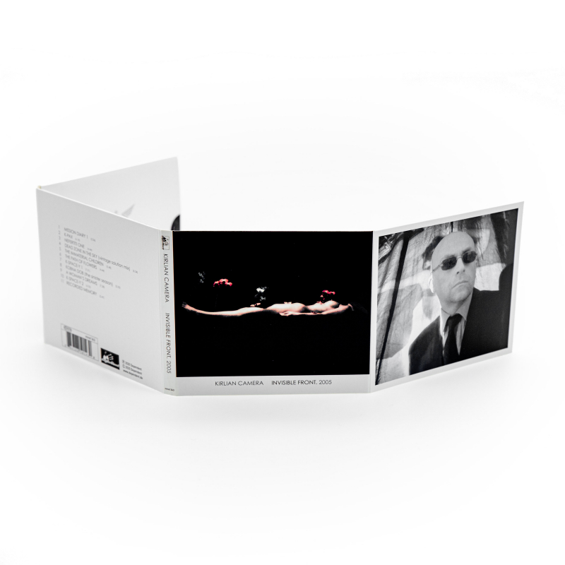 Kirlian Camera - Invisible Front. 2005 CD Digipak